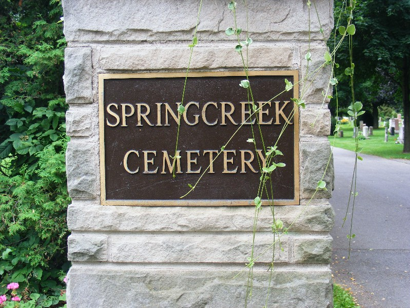 Image result for spring creek cemetery